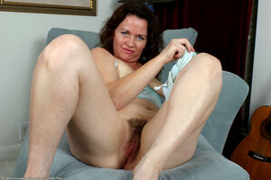 hairy old mature