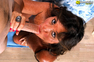 amazing mature blowjob