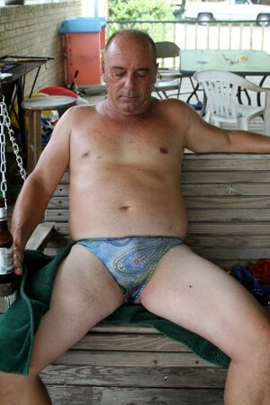 hot older men naked