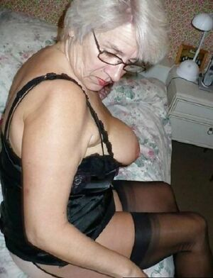 blonde granny blowjob