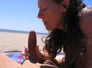 mature nude outdoors