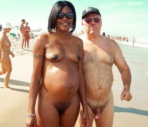 naked beach milf