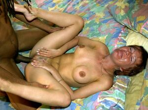 granny interracial creampie